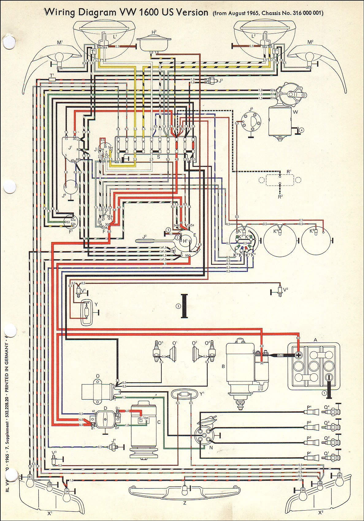 Wiring Diagram For 1960 Vw Beetle : Vw short bus a like no other